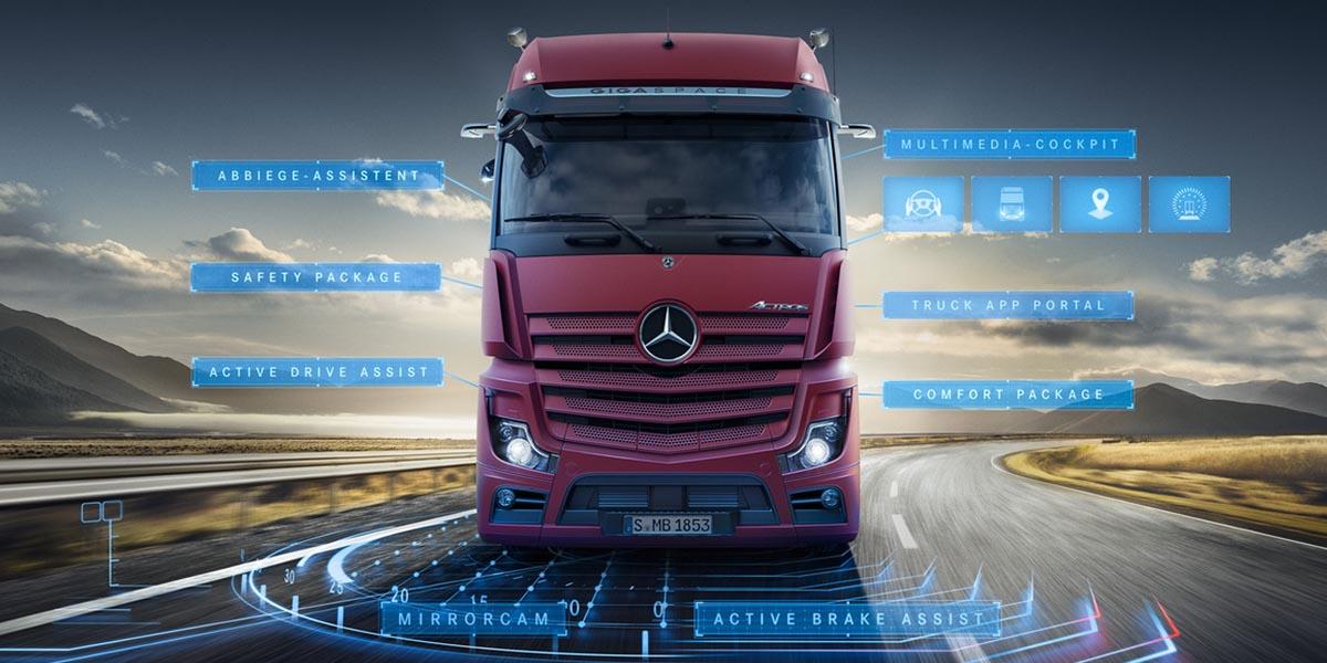 EBERT Mercedes-Benz Trucks Actros