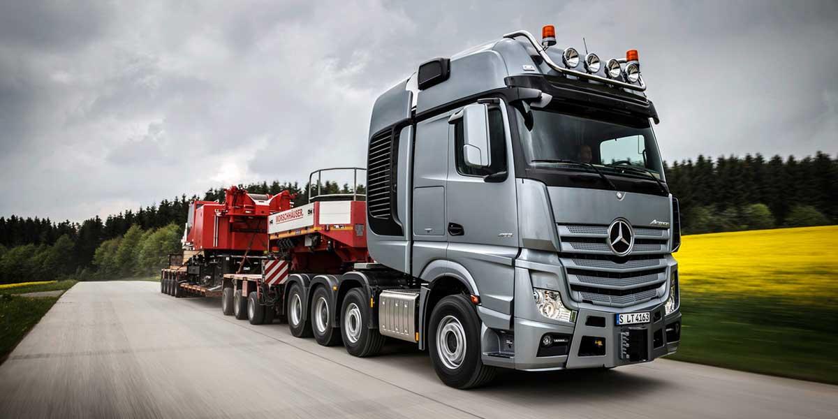 EBERT Mercedes-Benz Trucks Actros Schwerlasttransport SLT