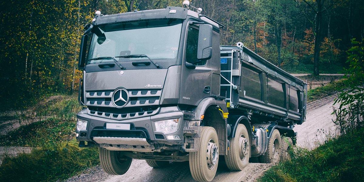 EBERT Mercedes-Benz Trucks Arocs