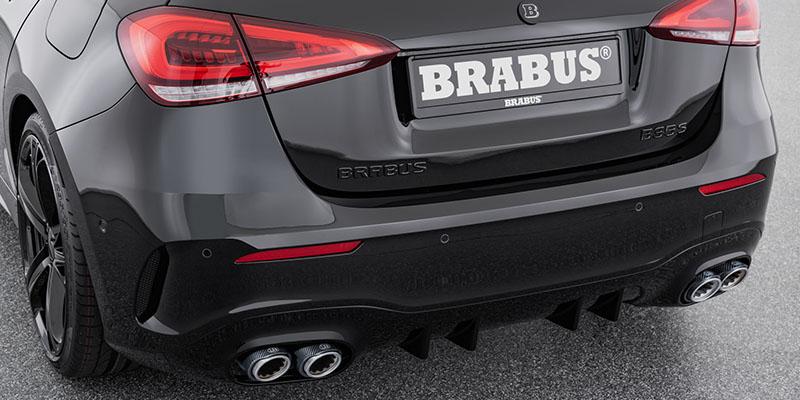 EBERT BRABUS Auspuffblenden Carbon