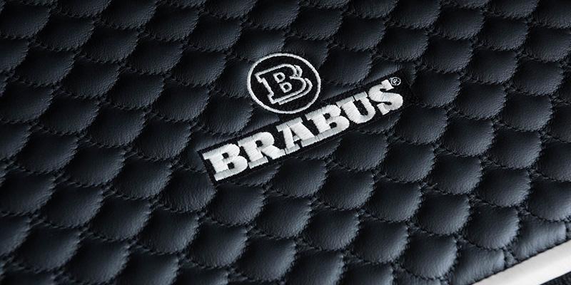 EBERT BRABUS Kofferraummatte Leder gesteppt