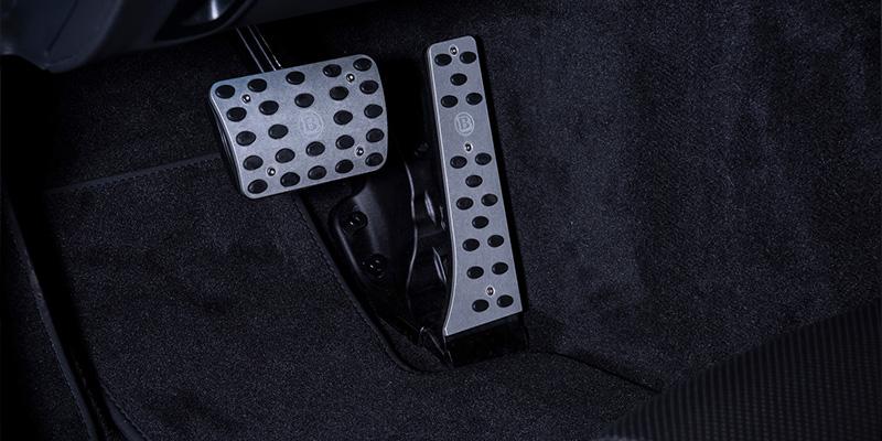 EBERT BRABUS Pedalauflagen Aluminium
