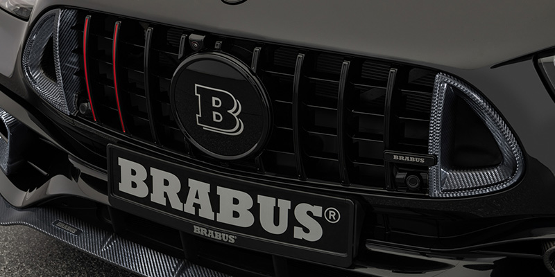 EBERT BRABUS Frontgrilleinsätze Carbon